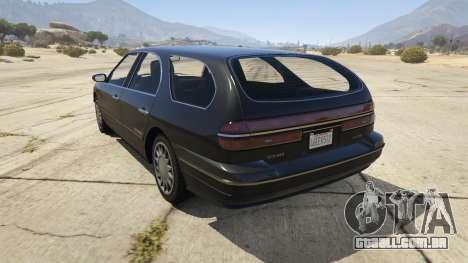 GTA 5 GTA IV Solair traseira vista lateral esquerda