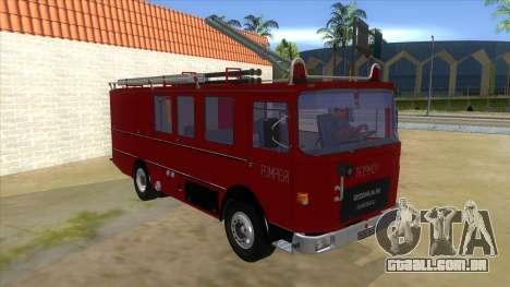 Roman 8135 FA para GTA San Andreas vista traseira