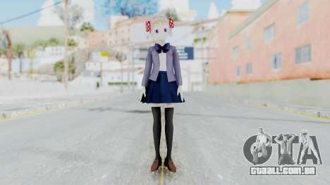 Sakura Chiyo (Gekkan Shoujo) para GTA San Andreas segunda tela