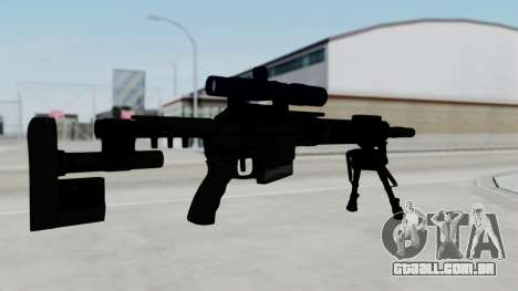 McMillan CS5 para GTA San Andreas segunda tela
