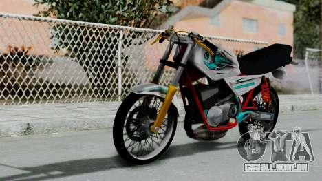 RX- King Putih para GTA San Andreas