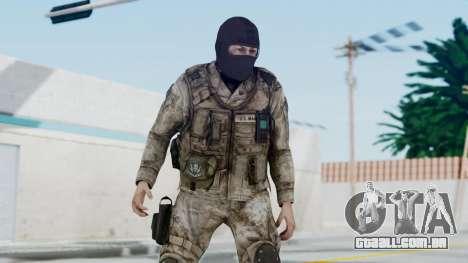 Crysis 2 US Soldier 8 Bodygroup A para GTA San Andreas