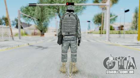 Acu Soldier 4 para GTA San Andreas terceira tela
