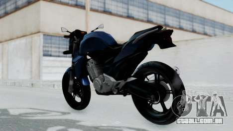 Honda CB300R para GTA San Andreas esquerda vista