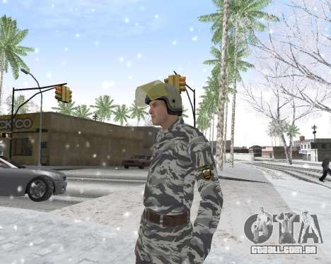 O OMON para GTA San Andreas por diante tela