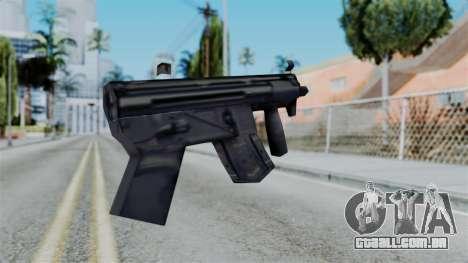 Vice City Beta MP5-K para GTA San Andreas segunda tela