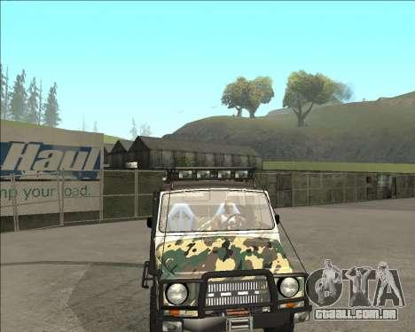 969М LuAZ Fora-de-Estrada para GTA San Andreas vista direita
