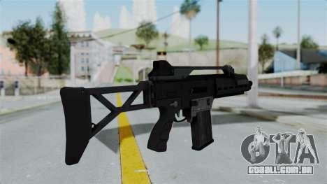 GTA 5 Special Carbine - Misterix 4 Weapons para GTA San Andreas segunda tela
