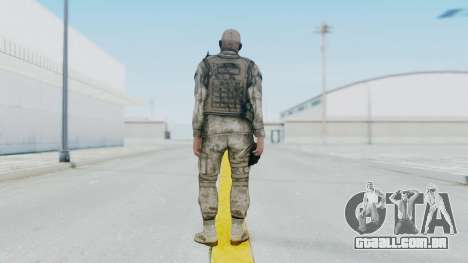 Crysis 2 US Soldier FaceB2 Bodygroup A para GTA San Andreas terceira tela