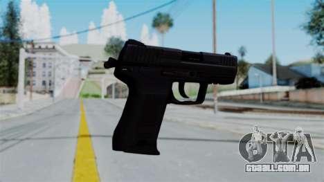 HK45 Black para GTA San Andreas segunda tela