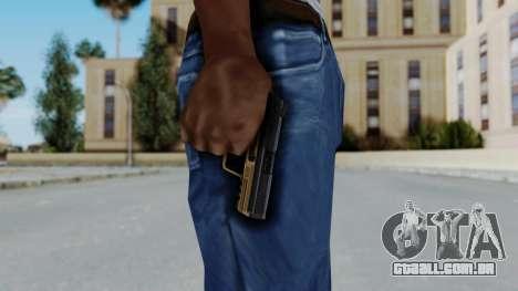 HK45 Sand Frame para GTA San Andreas terceira tela