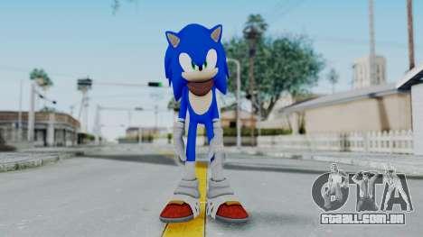 Sonic Boom para GTA San Andreas segunda tela