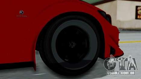 GTA 5 Karin Sultan RS Rally para GTA San Andreas traseira esquerda vista