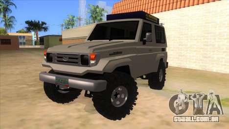 Toyota Machito 4X4 para GTA San Andreas
