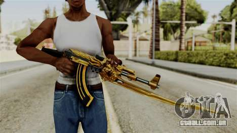 Dragon AK-47 para GTA San Andreas terceira tela