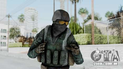 Counter Strike Source Custom Urban Model para GTA San Andreas