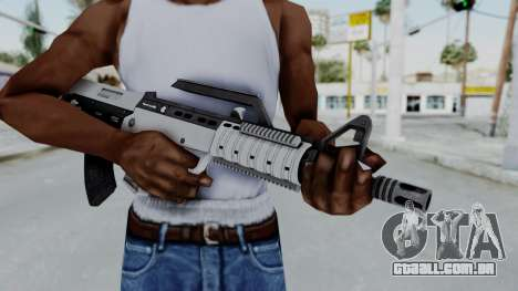 GTA 5 Bullpup Rifle - Misterix 4 Weapons para GTA San Andreas terceira tela