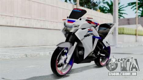 Honda CB150R para GTA San Andreas