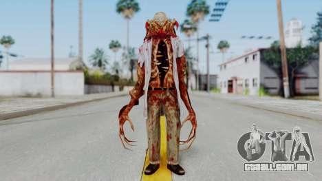 Zombie Scientist Skin from Half Life para GTA San Andreas segunda tela