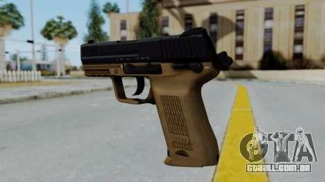 HK45 Sand Frame para GTA San Andreas segunda tela
