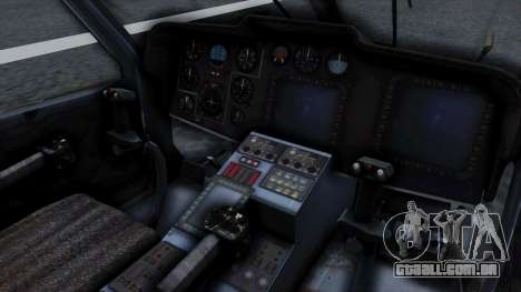 PO-34 Orca para GTA San Andreas vista direita