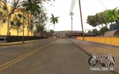 O trabalho de reparação Grove Street para GTA San Andreas quinto tela