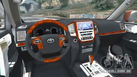 Toyota Land Cruiser 200 2016 para GTA 5