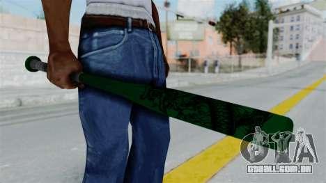 GTA 5 Baseball Bat 1 para GTA San Andreas terceira tela
