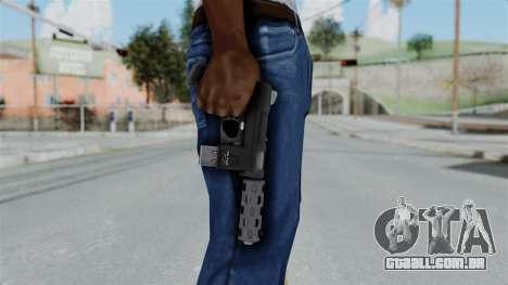 GTA 5 Machine Pistol - Misterix 4 Weapons para GTA San Andreas terceira tela