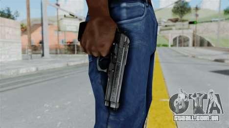 Tariq Iraq Pistol para GTA San Andreas terceira tela