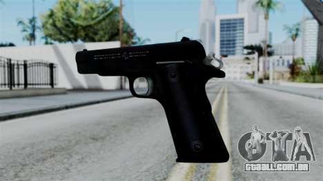 No More Room in Hell - Colt 1911 para GTA San Andreas terceira tela