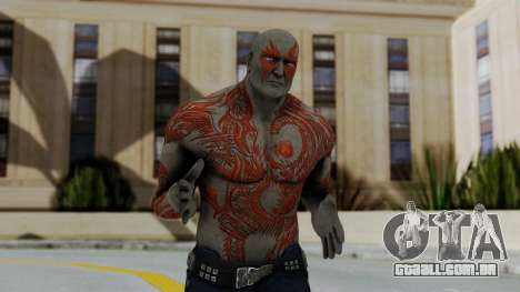 Marvel Heroes - Drax para GTA San Andreas