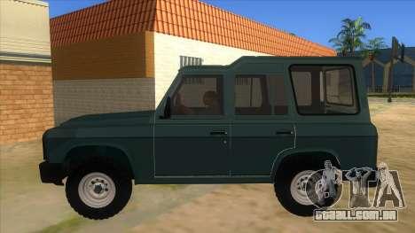 Aro 246 (1996) para GTA San Andreas esquerda vista