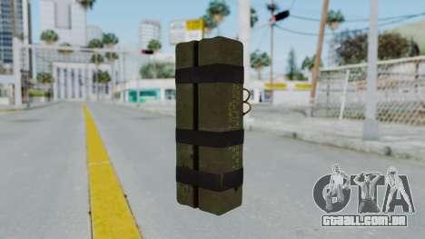 GTA 5 Stickybomb para GTA San Andreas segunda tela