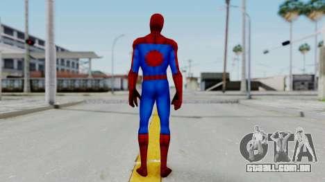 Marvel Future Fight Spider Man Classic v2 para GTA San Andreas terceira tela
