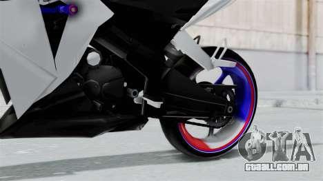 Honda CB150R para GTA San Andreas vista direita