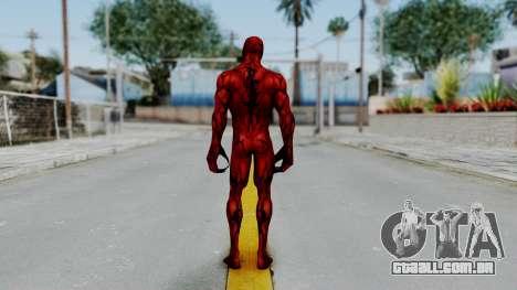 Marvel Future Fight - Carnage para GTA San Andreas terceira tela