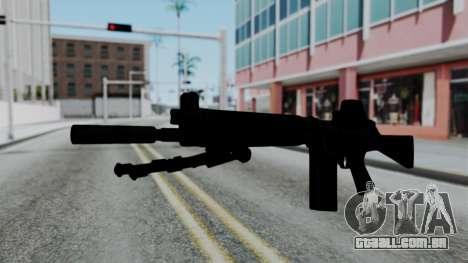 FN-FAL from CS GO with EoTech para GTA San Andreas