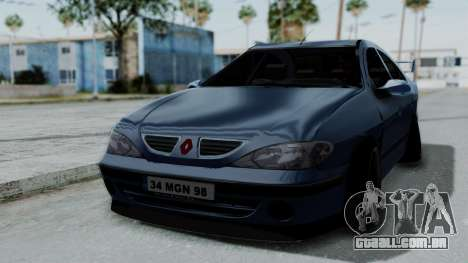 Renault Megane Stance para GTA San Andreas