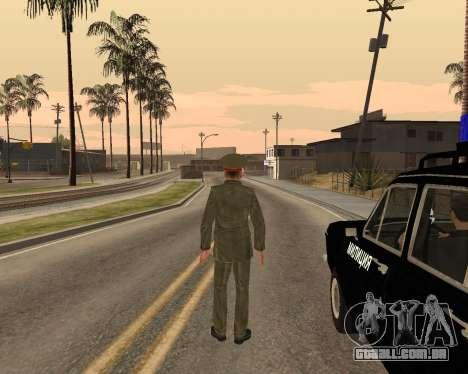 O exército russo Skin Pack para GTA San Andreas décima primeira imagem de tela