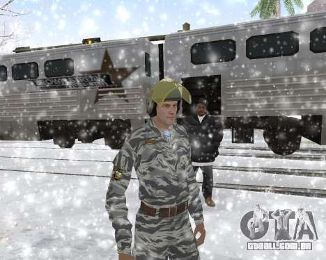 O OMON para GTA San Andreas quinto tela