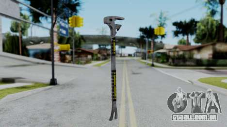 No More Room in Hell - FUBAR Wrecking Bar para GTA San Andreas segunda tela