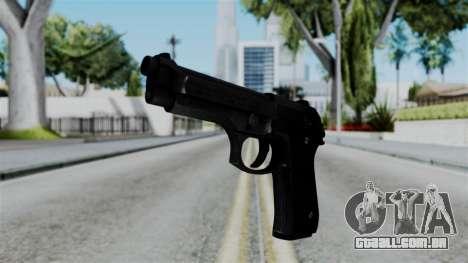 No More Room in Hell - Beretta 92FS para GTA San Andreas
