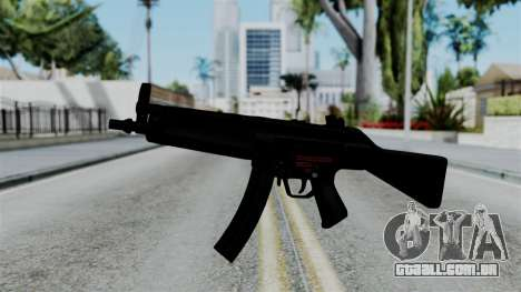 No More Room in Hell - MP5 para GTA San Andreas segunda tela