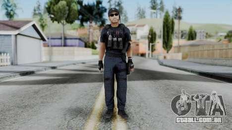 Interventna Jedinica Policije para GTA San Andreas segunda tela