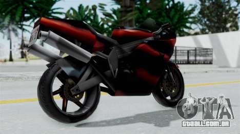 FCR-900 Custom para GTA San Andreas vista direita