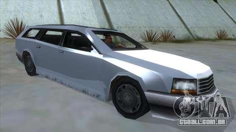 GTA LCS Sindacco Argento para GTA San Andreas vista direita