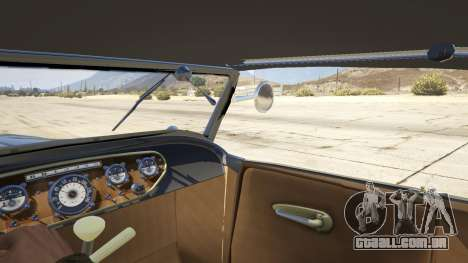 GTA 5 Ford T 1927 Roadster traseira direita vista lateral