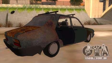 Dacia 1310 Rusty v2 para GTA San Andreas vista direita