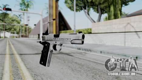 For-h Gangsta13 Pistol para GTA San Andreas